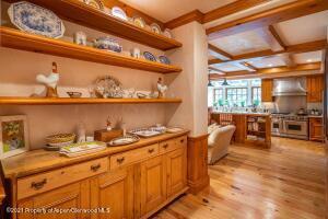 Kitchen Dish and Table Storage
