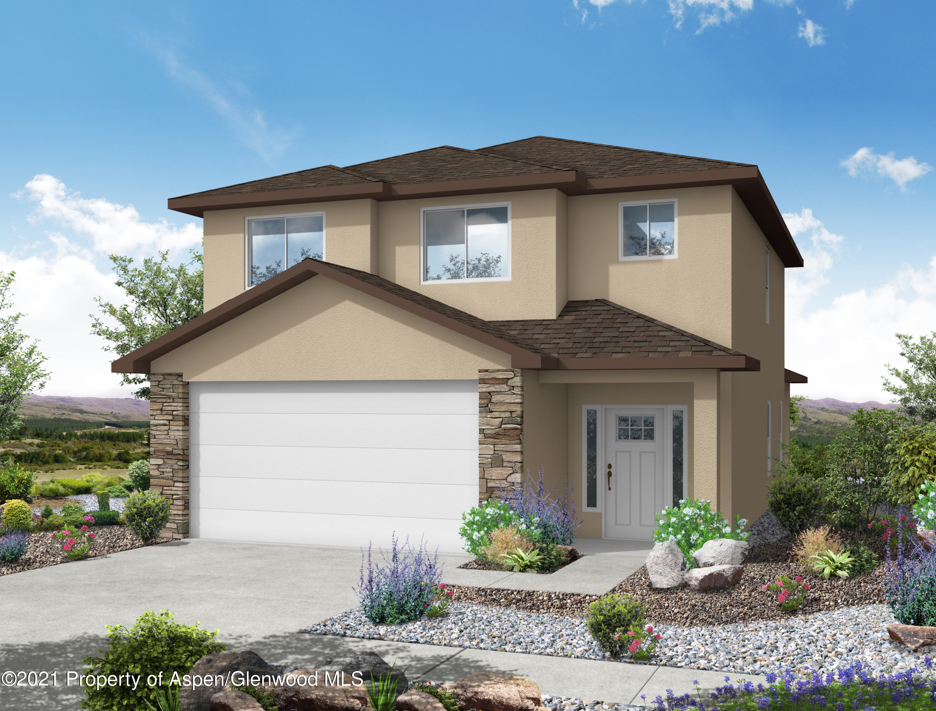 Make this four bedroom NEW CONSTRUCTION in the Promontory at Graham Mesa Subdivision home sweet home! This two story floor plan conveniently features all four bedrooms and laundry room upstairs, with the kitchen, living room, dining room, and a half bathroom on the main level. You'll enjoy a spacious en-suite master, complete with a double sink vanity and a generously sized walk in closet. Ideally located close to town and schools, this home checks all the boxes!