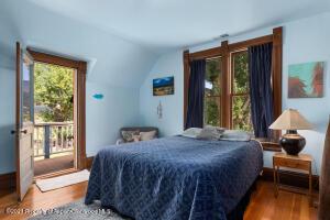 Bedroom #2 with deck