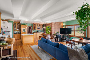Open Living, Dining, & Kitchen