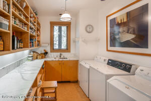 KITCHEN PANTRY AND LAUNDRY