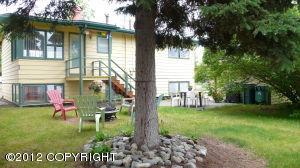 Large, spacious backyard