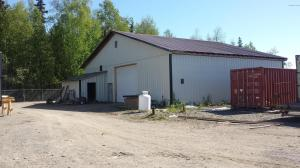 2880 Sq. Ft. Heated Shop /Office with Parks Hwy Frontage