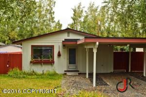 Single family ranch in south Anchorage.