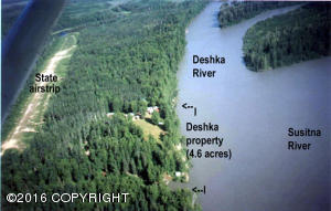 Remote Deshka River, Remote, AK 99000