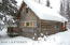 Nice log cabin in Petersville area off Oilwell Road. No road access.