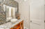 Living area Half Bath
