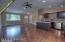 Main Living Areas: Vaulted ceiling, recessed lighting, ceiling fan, laminate flooring