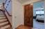 Barn door to Master Suite