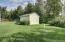 Lawn shed