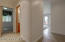 Family room to the half bath, Bonus Room (closet), laundry room to the 560' garage