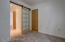 Bonus room, closet, barn door