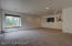 Bonus room above the garage, with a closet, game room, family room with bench seating windows