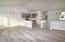 Beautiful flooring, Vaulted Ceilings, Bright and Light