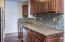 Newer cabinets and counter tops