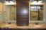 Countertop vanity cabinet.