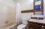Full bath off Family Room
