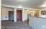 VIEW FROM FRONT ENTRY TO ELEVATOR RECEPTION AND OFFICE 1 OF 3.