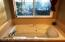 Huge Jacuzzi tub to soak your cares away...