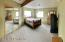 Massive Master Suite with huge walk-in closet and 3/4 bath