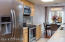 Nice long spacious kitchen