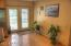 French Doors to large Back Deck