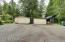 Tandem garage on the left, private suite in the center and huge storage on the right. An outdoors mans dream!!