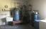 Water Heater & Heat System in Garage