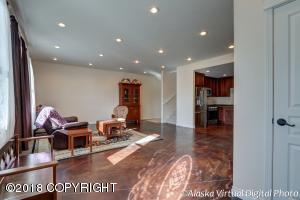 Living Room bathed in natural light
