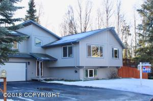 Tri-level home with 5-6 bedrooms on a nice cul-de-sac in southside's Turnagain View Estates neighborhood. New 3 car driveway installed last summer.