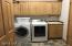 Spacious laundry room off garage and close to Master Suite...