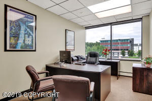 Furnished exterior offices.