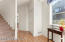 Laminate floors & spacious hall closet