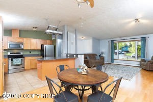 Open Kitchen, Living and Dining Room