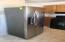 Newer stainless fridge.