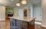 Kitchen, Pantry and Garage