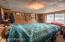 bedroom in float house
