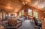 Wolf Lodge upper living quarters