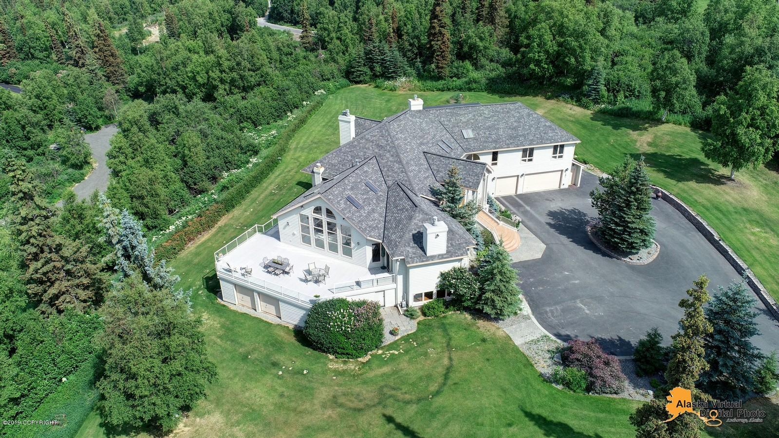 10600  Schuss Drive, one of homes for sale in Anchorage