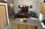 Large dining area off of the kitchen with plenty of room for your oversized dining set and hutch...