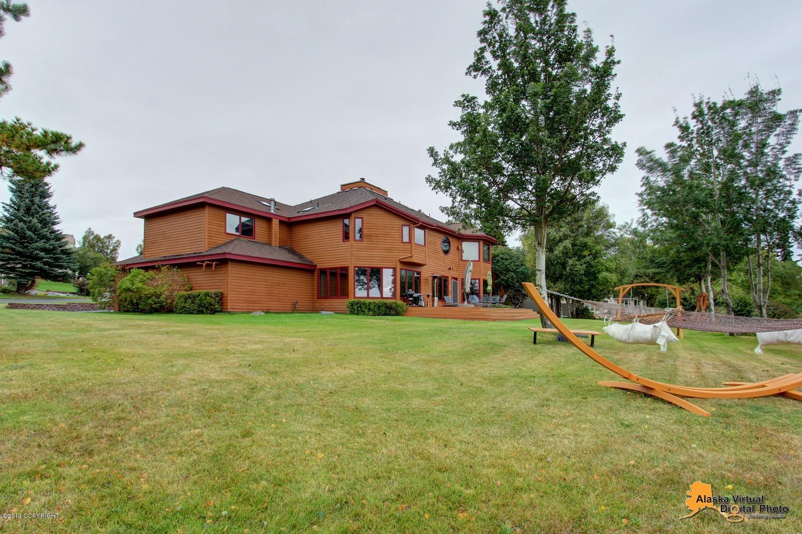 2934  Crow's Nest Circle, one of homes for sale in Anchorage