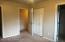bedroom 1, 2 closets, bathroom access
