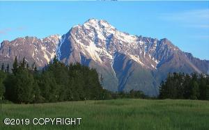 View of Pioneer Peak from Lot 50