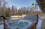 Hot tub is available for purchase separately but is not included with the sale.