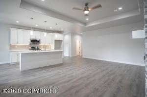 Main kitchen & Living