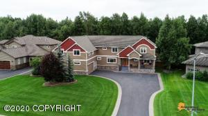 Beautiful one of a kind custom home with sport court
