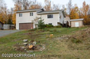 Wonderful home just West of Wasilla off Church Road.