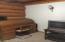 Office desk & TV