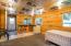Guest cabin kitchenette