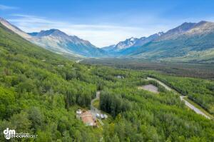 Endless view of Eagle River Valley